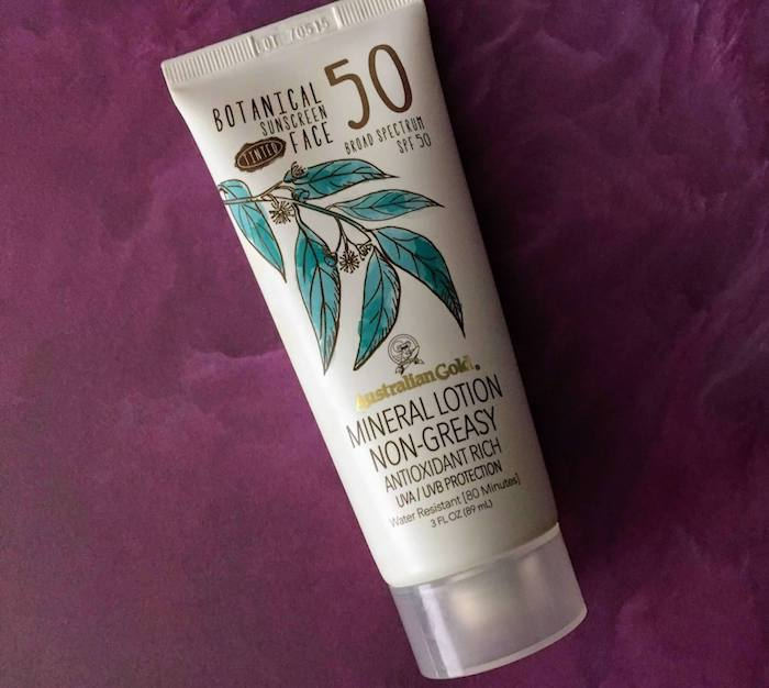 Australian Gold Tinted Face Sunscreen Review