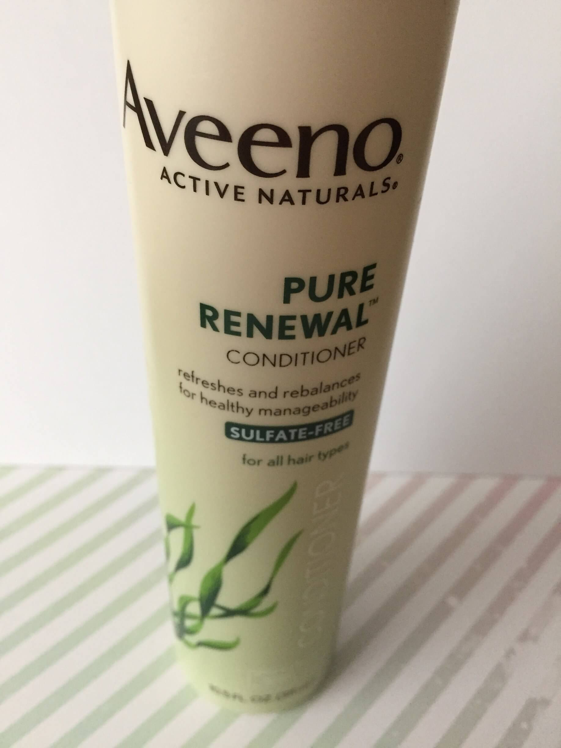 aveeno pure renewal conditioner review