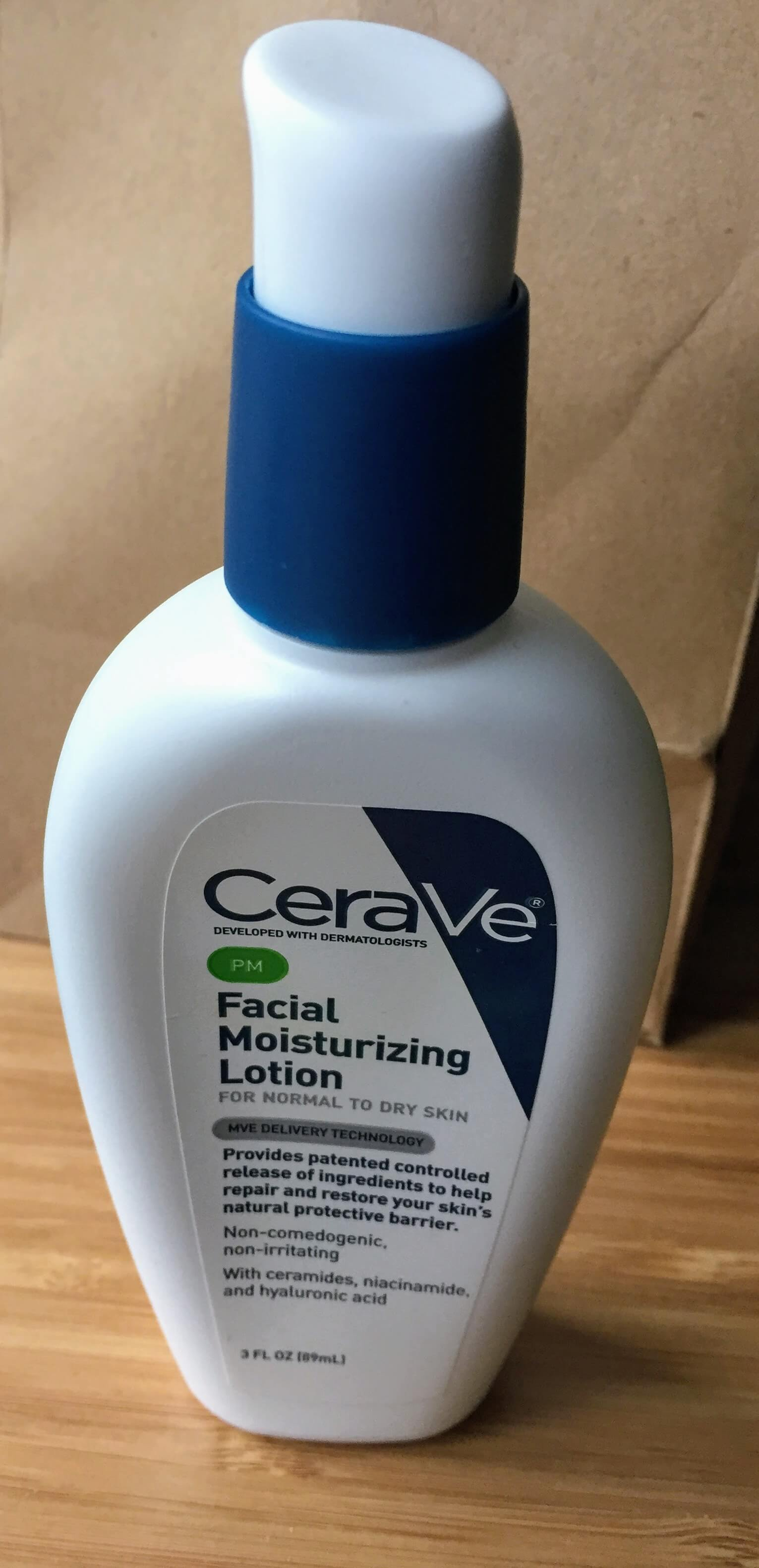 CeraVe facial moisturizing lotion pm review