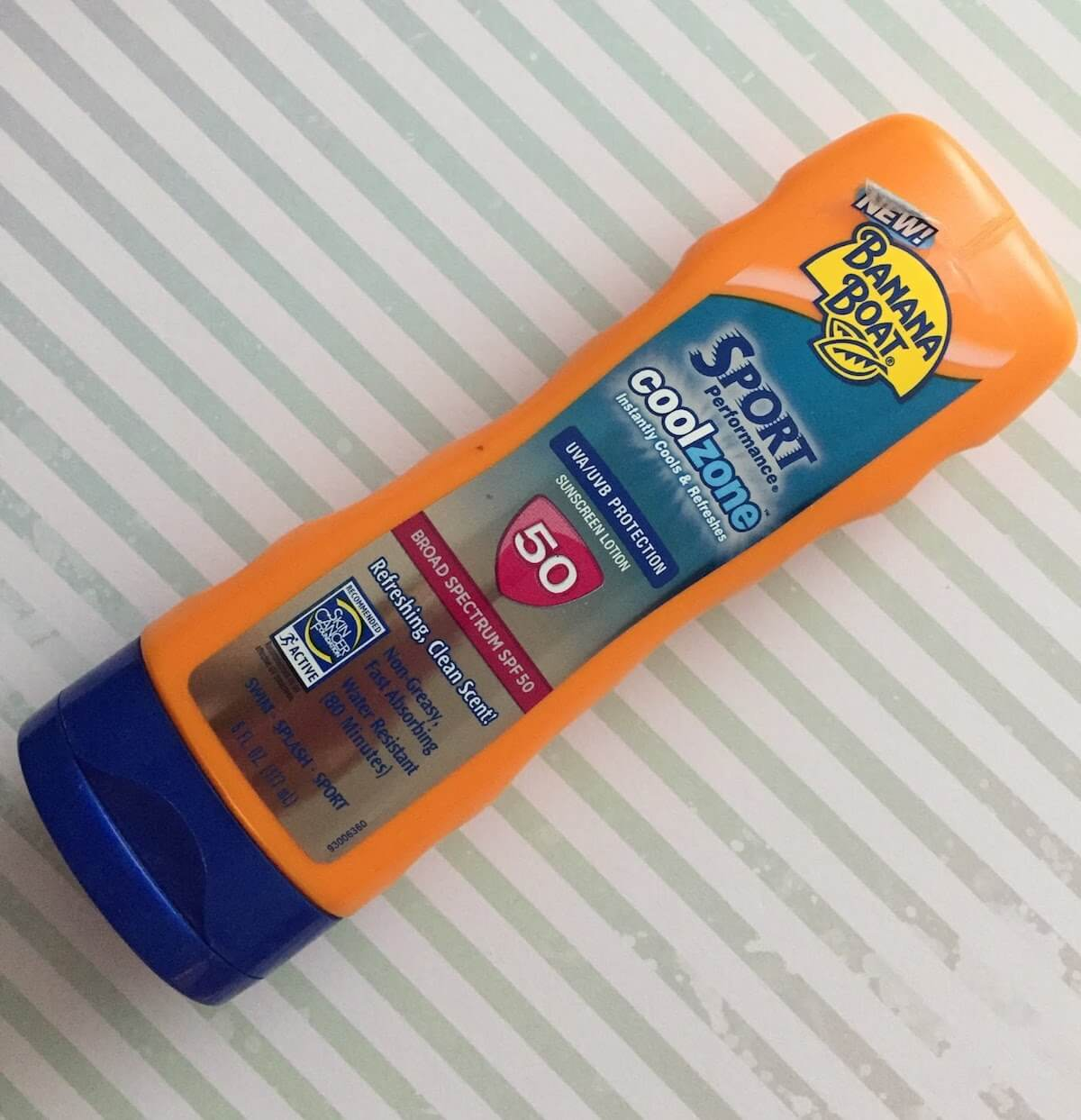 banana boat sport cool zone sunscreen review