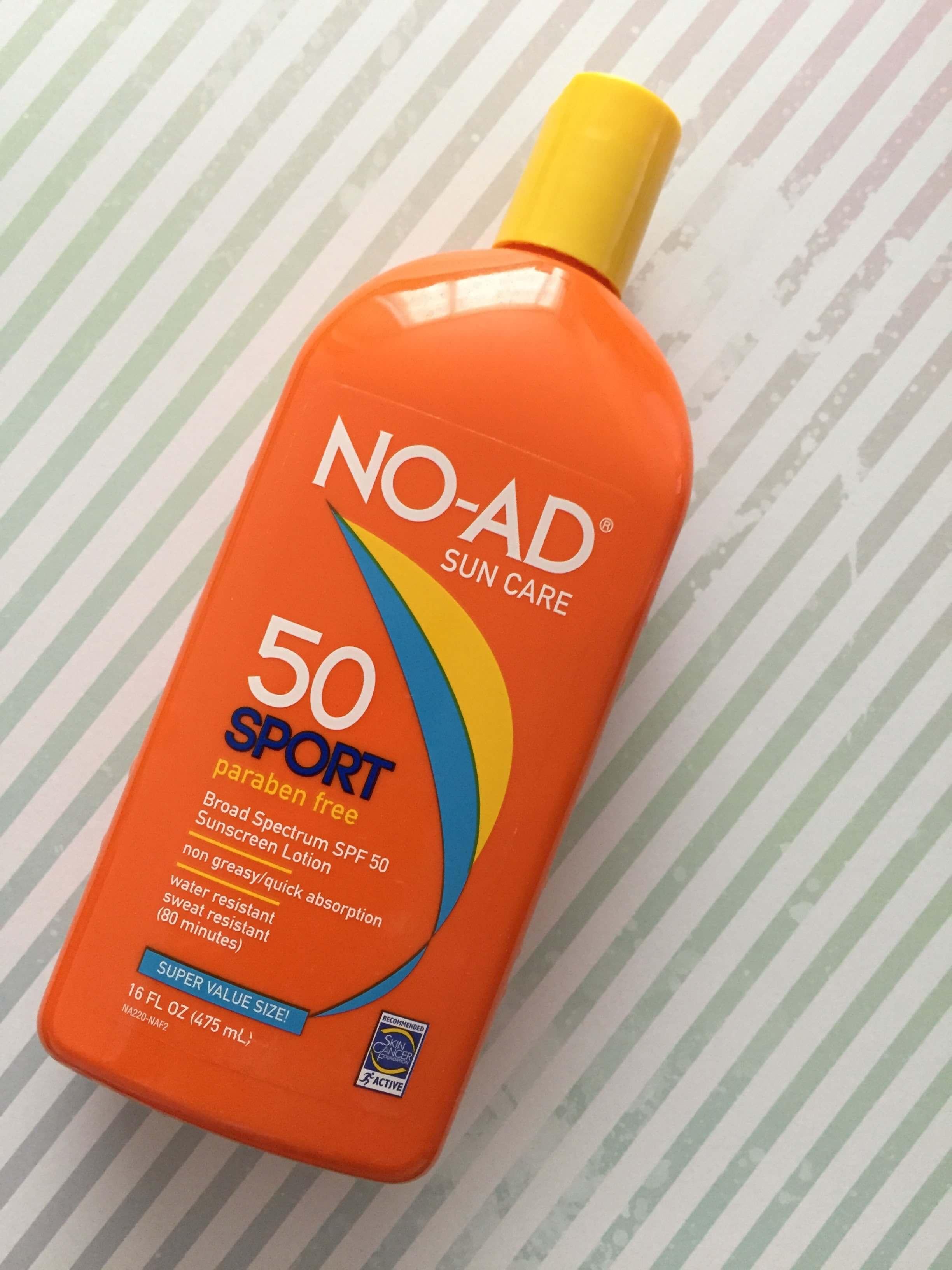 NO-AD Sport Sunscreen, SPF 50 Review