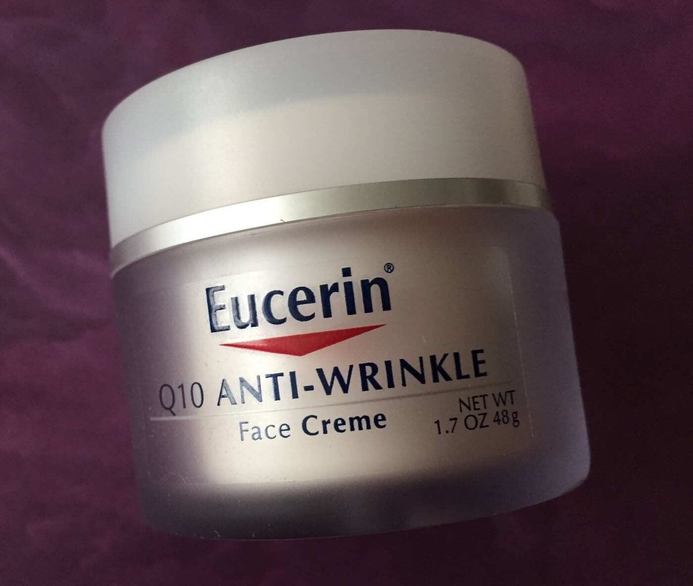 eucerin anti wrinkle face cream