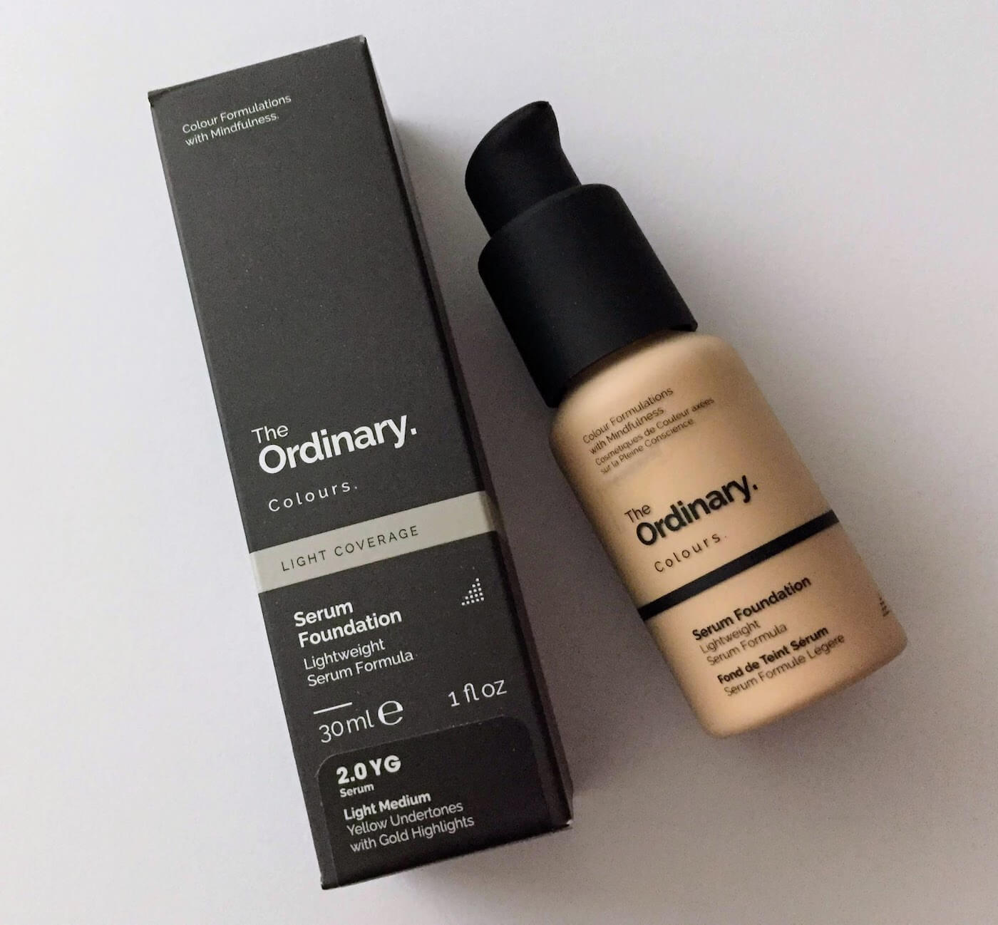the ordinary serum foundation review for asians 2.0yg
