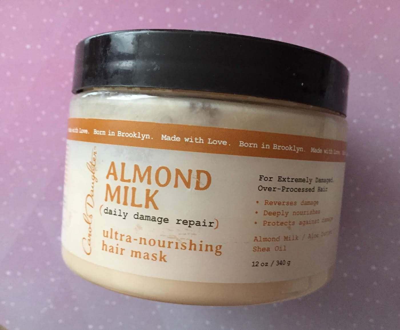 Carol's Daughter almond milk hair mask review