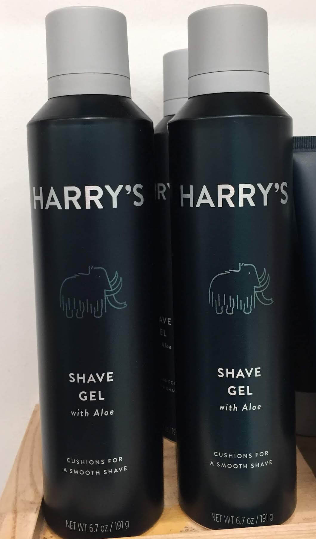 Harry's shave gel Review