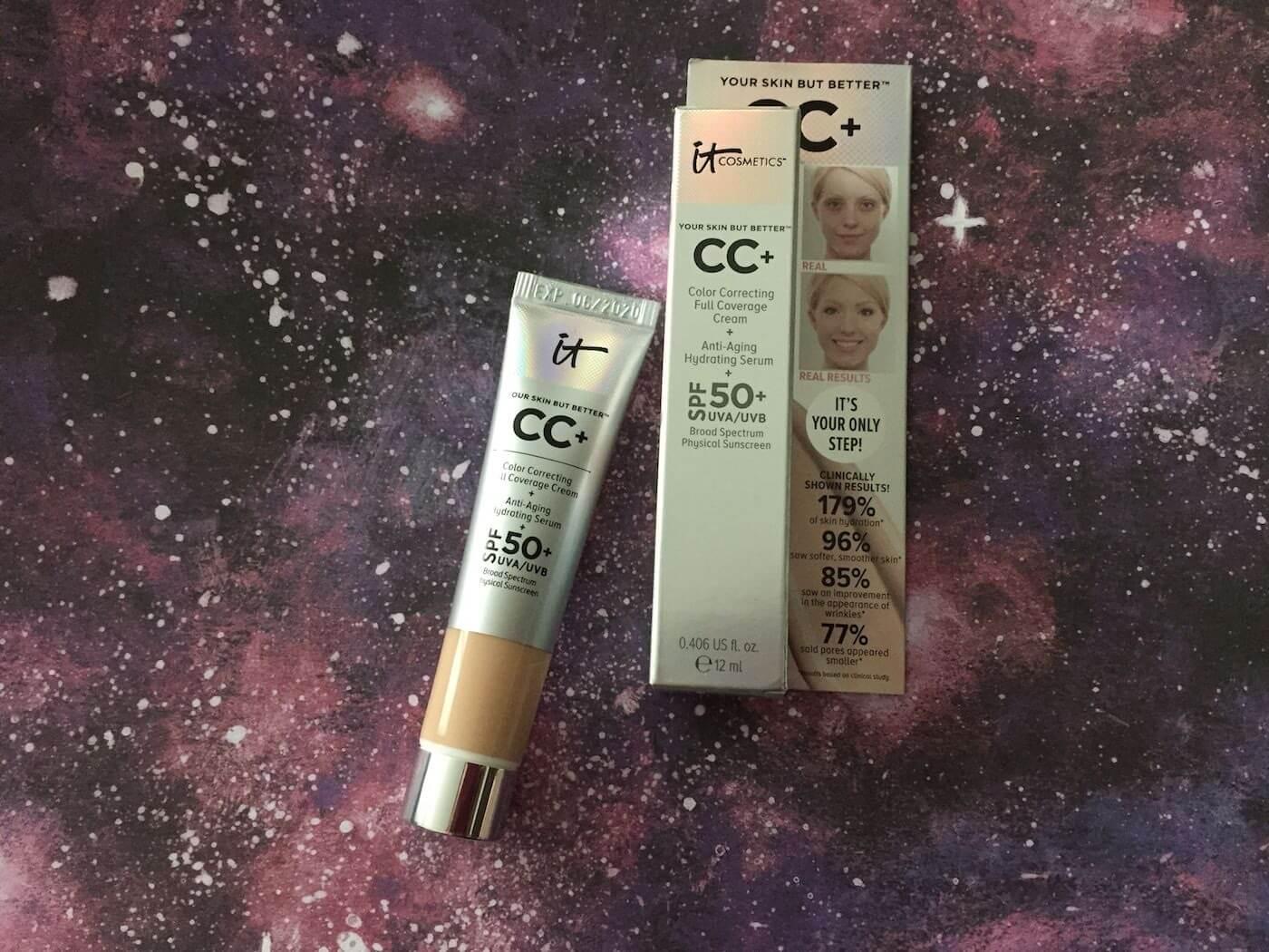 clinically proven skincare it cosmetics cc cream