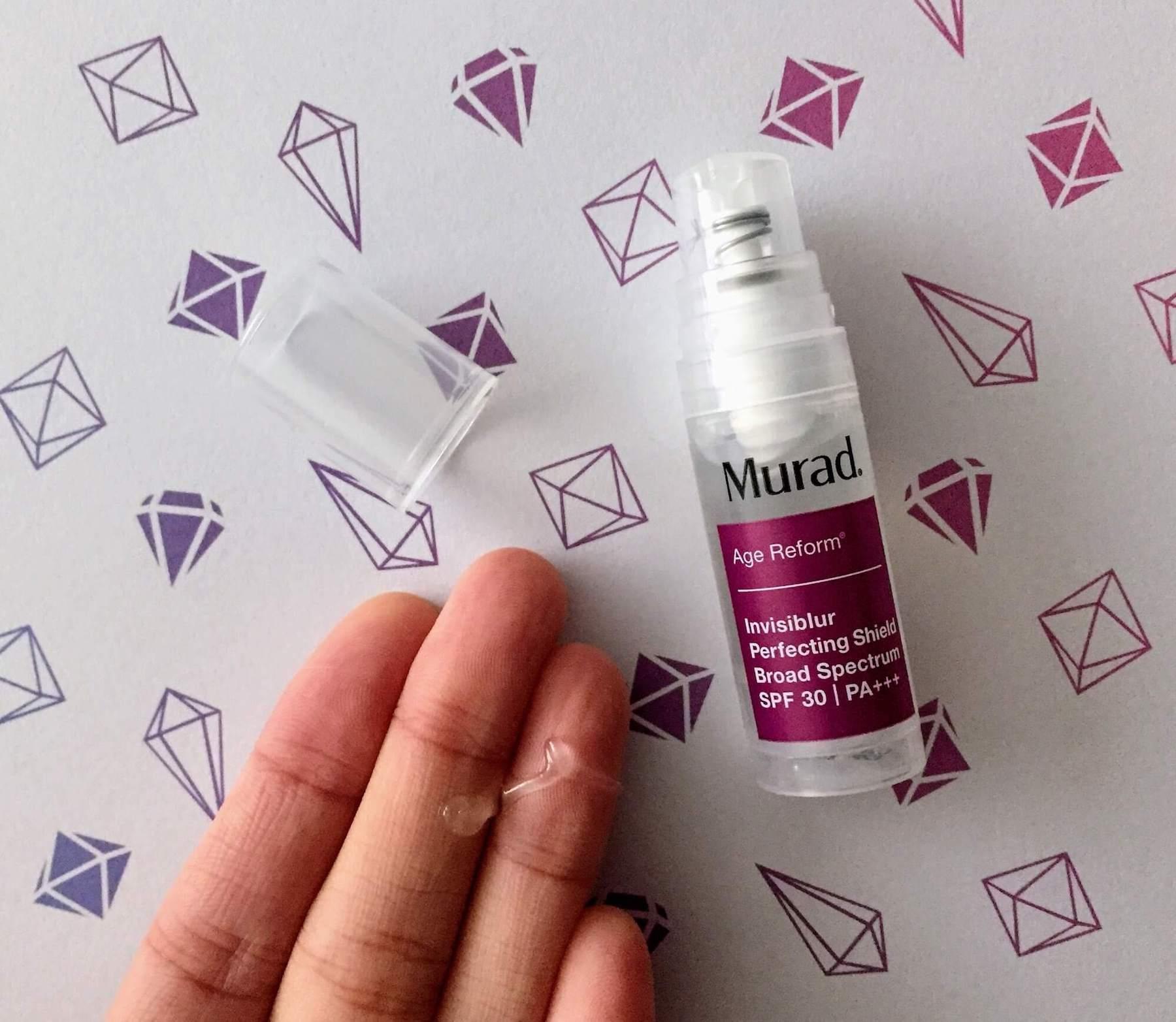 Murad Invisiblur Perfecting Shield SPF 30 Sunscreen review