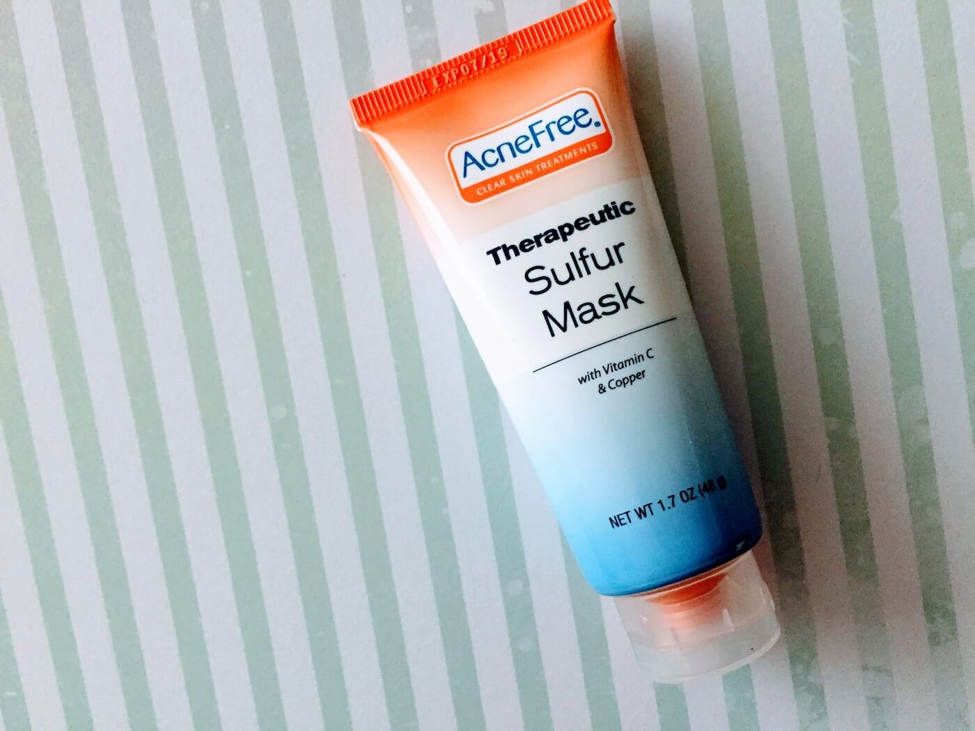 AcneFree Sulfur Mask Review