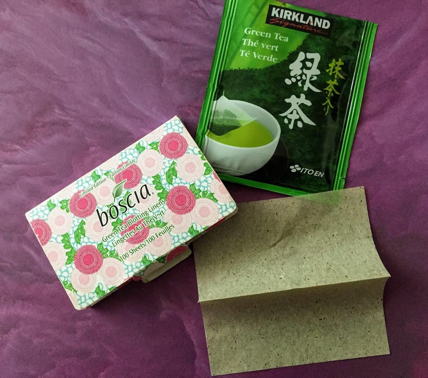 Boscia Green Tea Blotting Linens Review