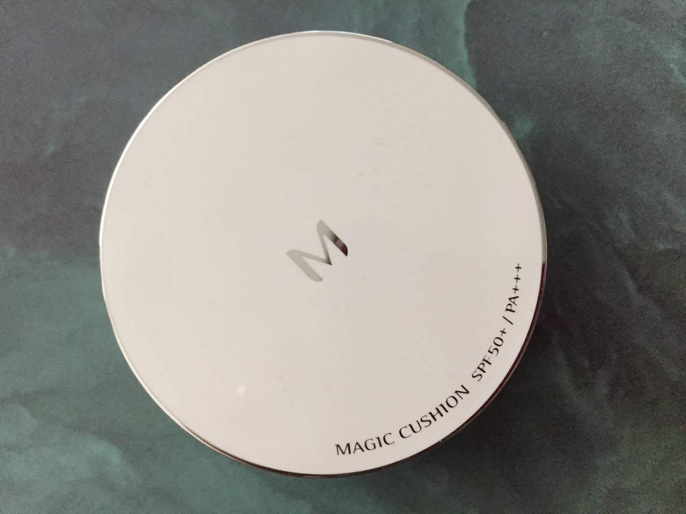 Missha Magic Cushion SPF 50 review (No. 27) packaging