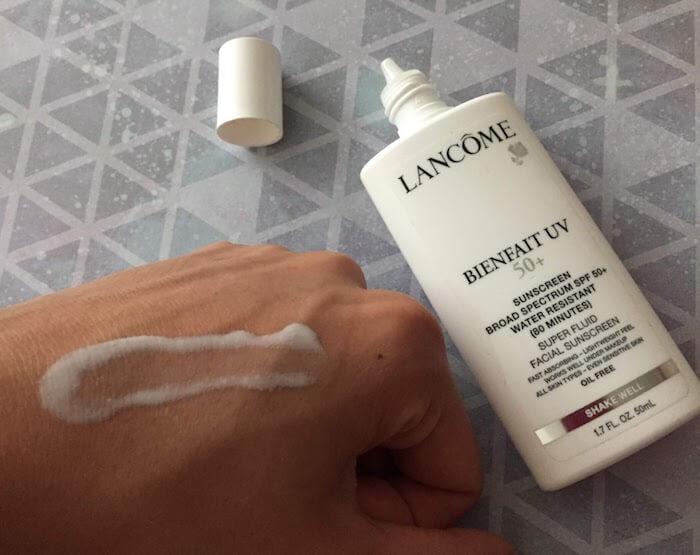 Lancome Bienfait UV SPF 50+ Super Fluid Facial Sunscreen Review