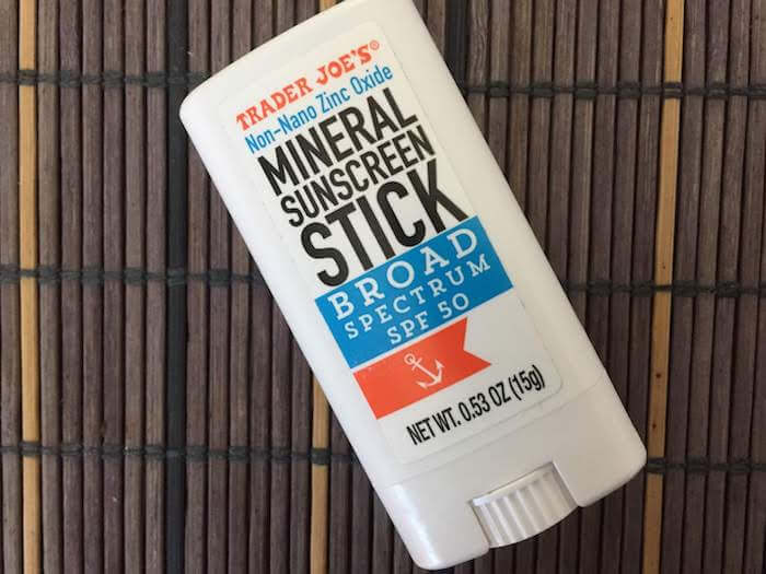 Neutrogena Pure & Free Baby Mineral Sunscreen Stick vs. Trader Joe's Sunscreen Stick