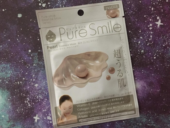 Pure Smile Shop Pearl Sheet Mask Review