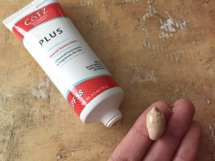 Cotz Plus SPF 58 Mineral Sunscreen review