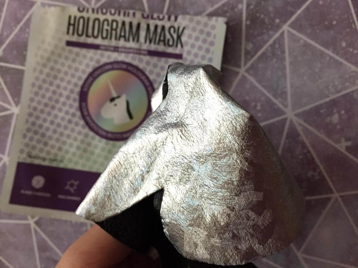 Soo'ae Unicorn Glow Hologram Sheet Mask review