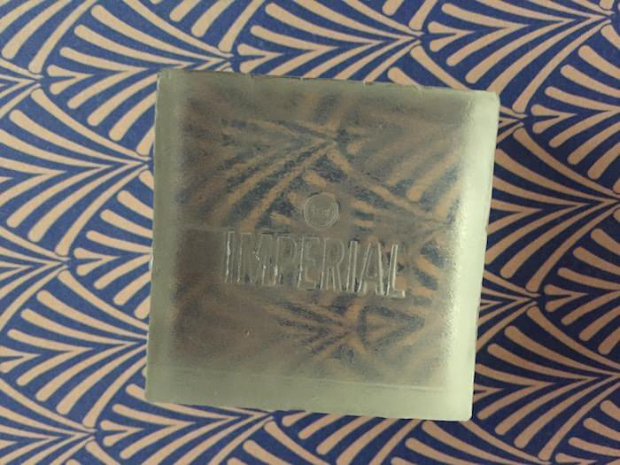 Imperial Barber Grade Products Glycerin Soap: Charter Hotel Seattle Toiletries Review