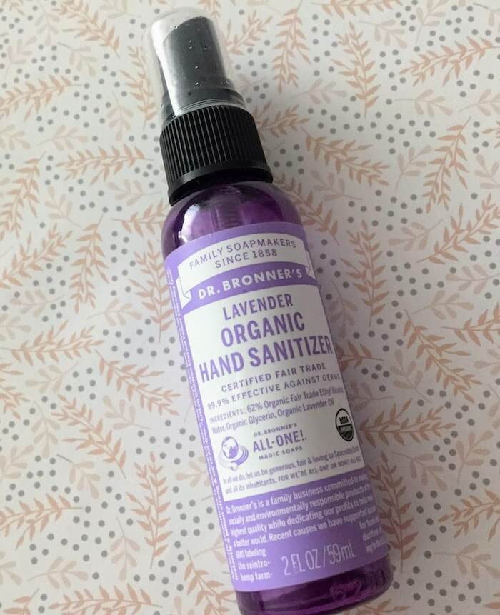 Dr. Bronner's Lavender Organic Hand Sanitizer review