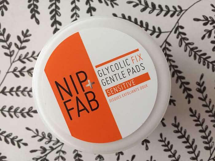 Nip + Fab Glycolic Fix Gentle Pads