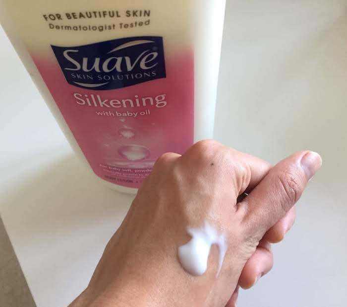Suave Silkening with Baby Oil Body Lotion review