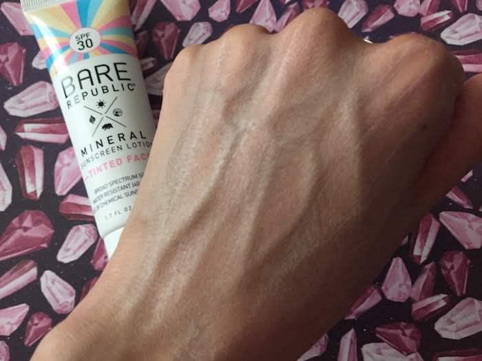 Bare Republic Tinted Face Sunscreen