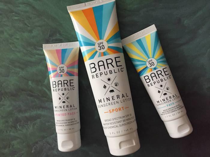 Bare Republic Face Sunscreen SPF 30 Bare Republic Tinted Face Sunscreen Bare Republic Body Sunscreen
