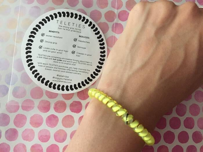 Teleties hair tie review