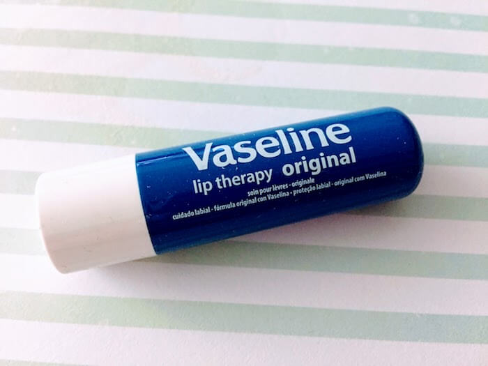 Vaseline Lip Therapy Original Lip Balm review