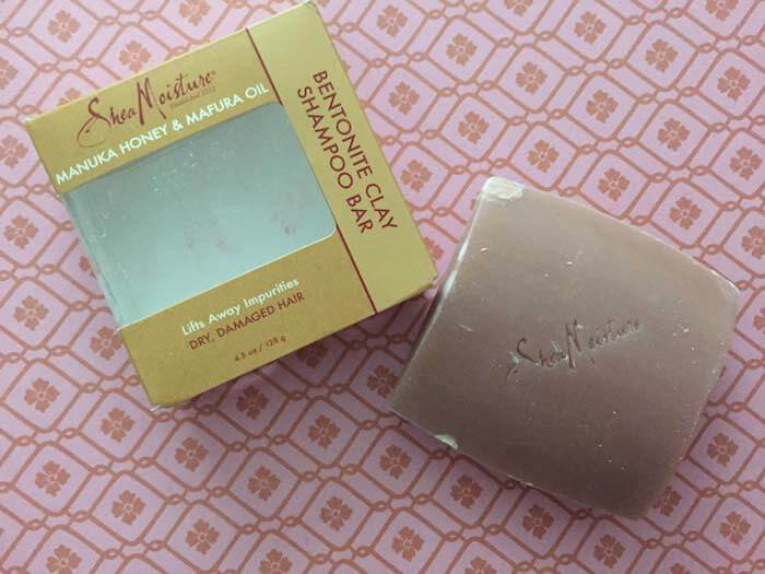 Shea Moisture Bentonite Clay Shampoo Bar review