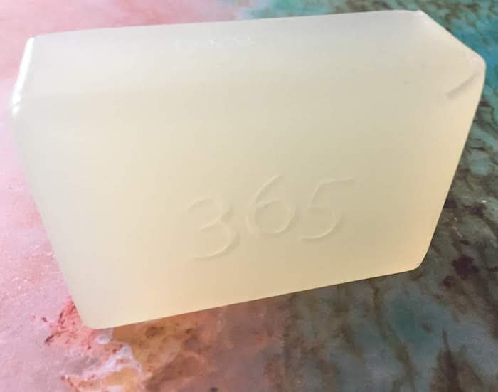 Whole Foods 365 Glycerin Soap review