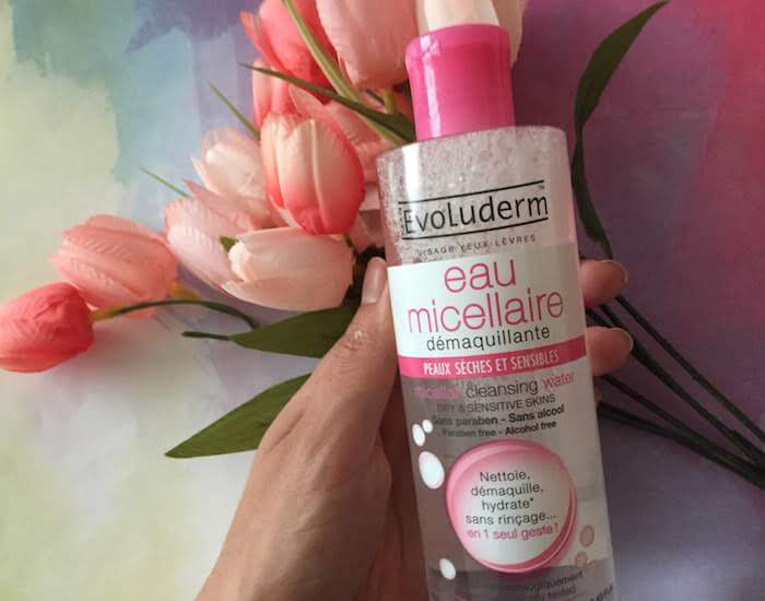 Evoluderm Micellar Water for Dry & Sensitive Skin Review