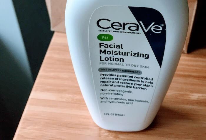 CeraVe facial moisturizing lotion pm new formula