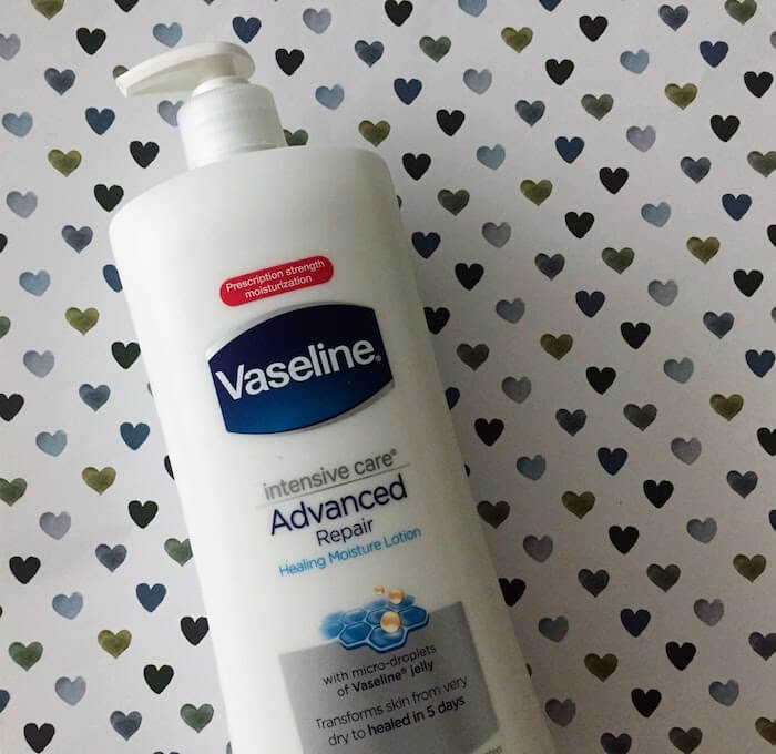 Vaseline Intensive Care Advanced Repair Lotion Review