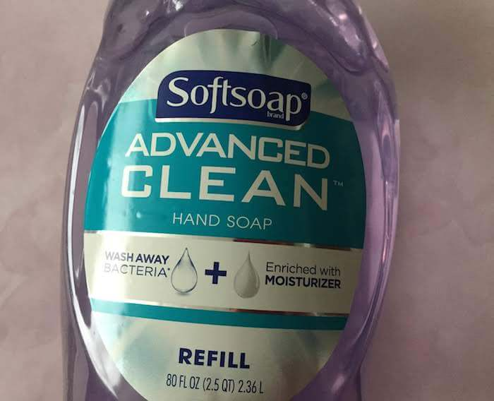 Softsoap Advanced Clean Hand Soap review